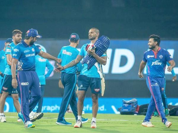 मैच से पहले एक ही तस्वीर में दिखे रोहित शर्मा, शिखर धवन और ऋषभ पंत।