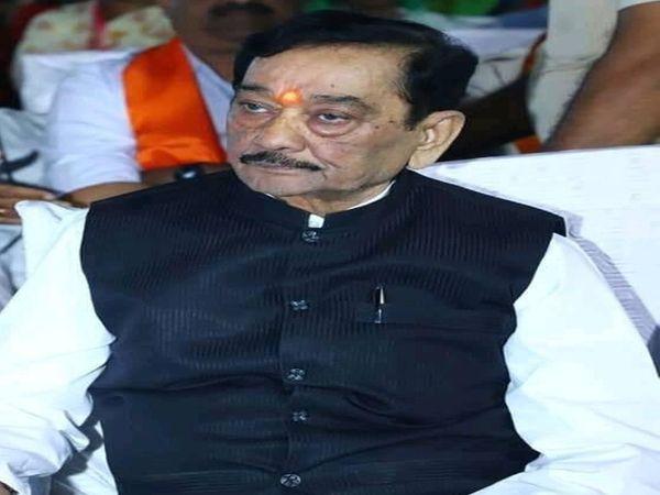 भाजपा के वरिष्ठ नेता हैं सत्यन - Dainik Bhaskar
