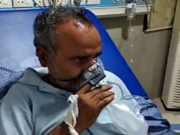 Famous poet Mir Ali Mir of Chhattisgarh Mirona became positive Poets returned home after recovering from Corona | अस्पताल में मन उदास होता तो करते थे घर के बच्चों से बातें, दूसरे मरीजों को अपनी कविता-गीतों के वीडियो दिखाकर किया मोटिवेट
