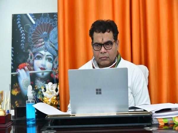 यूपी के कैबिनेट मंत्री और मेरठ - Dainik Bhaskar
