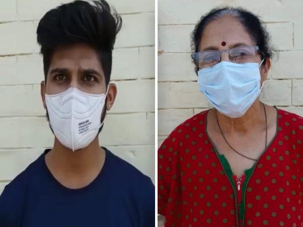 बैतूल के शाहपुर के कोविड सेंटर में भर्ती किसान परिवार ने बनाए रखा आत्मविश्वास। - Dainik Bhaskar