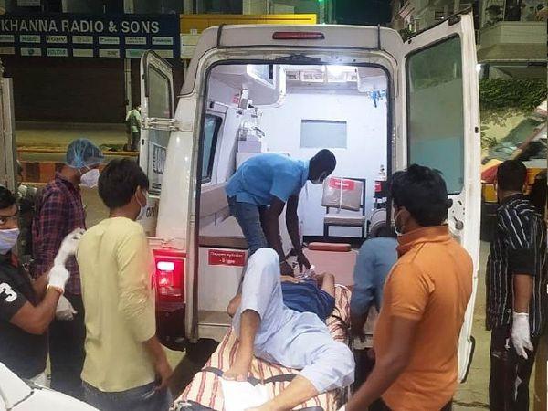 मरीजों को BHU शिफ्ट किया गया।