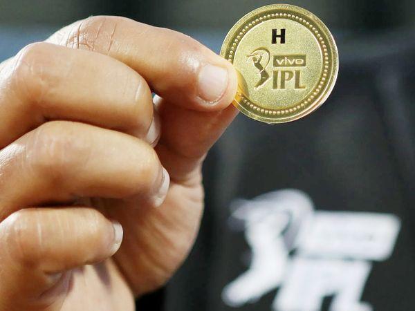 मैच में टॉस के दौरान इस्तेमाल किया गया सिक्का।