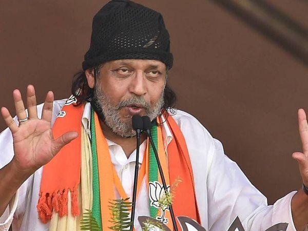 दो दिन पहले ही तृणमूल कांग्रेस की नेता सौगता रॉय ने मिथुन चक्रवर्ती पर कोविड प्रोटोकॉल तोड़ने का आरोप लगाया था। - Dainik Bhaskar