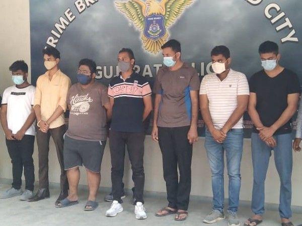 सातों गुजराती युवक अहमदाबाद की फाइव स्टार हयात होटल में बैठकर चला रहे थे गोरखधंधा। - Dainik Bhaskar