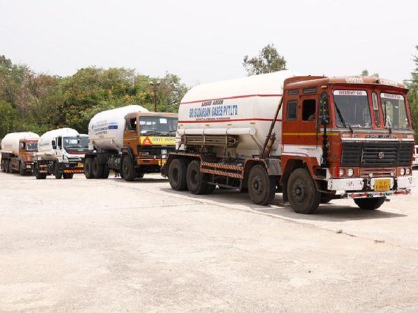 ओडिशा के राउरकेला से फरीदाबाद के लिए एक और ऑक्सीजन एक्सप्रेस प्रस्थान की गई है।