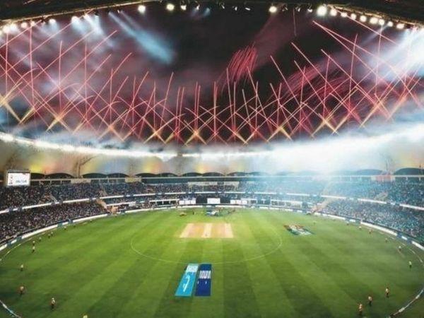 अगर टी-20 वर्ल्ड कप UAE शिफ्ट हुआ तो दुबई इंटरनेशनल क्रिकेट ग्राउंड सहित 4 स्टेडियम में मैच हो सकते हैं। - Dainik Bhaskar
