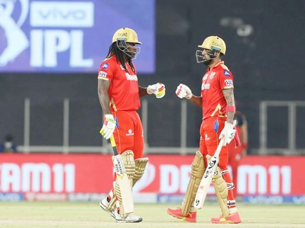 In the match, the Punjab Kings lost the toss and scored 179 runs while batting first.  Chris Gayle and captain Lokesh Rahul added 80 runs off 45 balls for the second wicket.