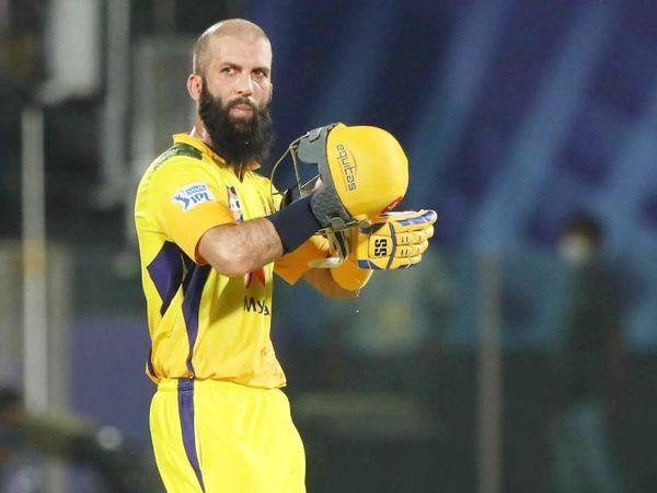 मोइन अली 36 बॉल पर 58 रन बनाकर आउट हुए। यह उनकी IPL में चौथी और इस सीजन में पहली फिफ्टी रही।