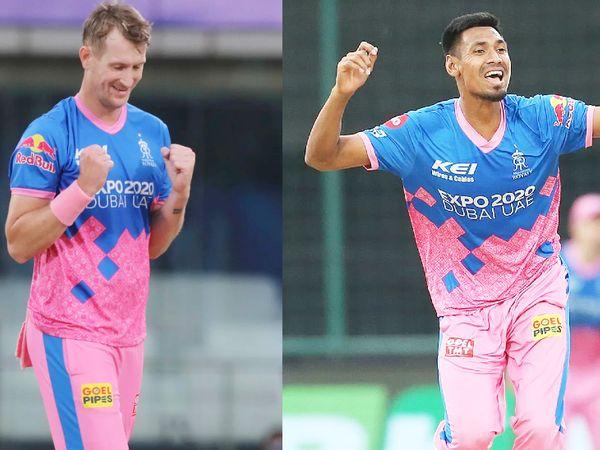 क्रिस मॉरिस और मुस्तफिजुर रहमान ने 3-3 विकेट लिए। मॉरिस ने अब्दुल समद, केदार जाधव और विजय शंकर का विकेट लिया। वहीं, मुस्तफिजुर ने मनीष पांडे, मोहम्मद नबी और राशिद खान को पवेलियन भेजा।