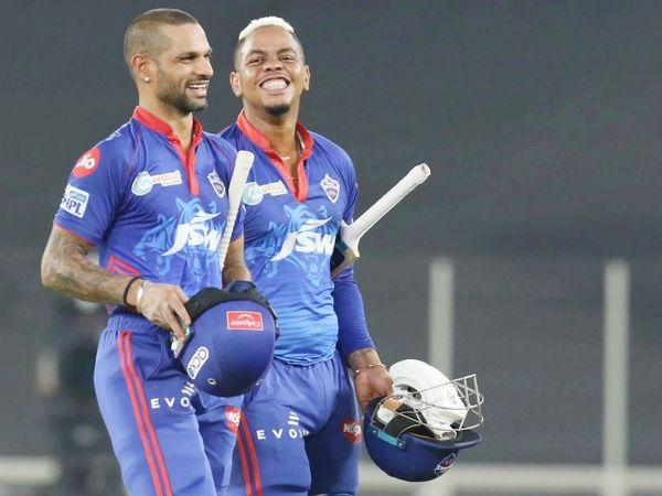 शाम को खेले गए मुकाबले में दिल्ली ने पंजाब को 7 विकेट से हराया। शिखर धवन 47 बॉल पर 69 और शिमरॉन हेटमायर 4 बॉल पर 16 रन बनाकर नाबाद लौटे।