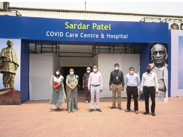 The DRDO was set up by the Sardar Vallabhbhai Patel Covid Center in Delhi after Corona's cases escalated last year.  It was prepared in a short span of 12 days.  There are also more than 200 ICU beds, separate rooms for doctors, pharmacy and medical labs.  (File photo) - Dainik Bhaskar