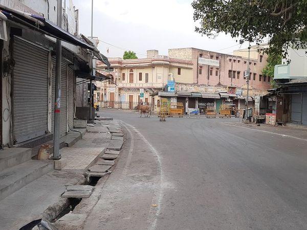 बंद बाजार - Dainik Bhaskar