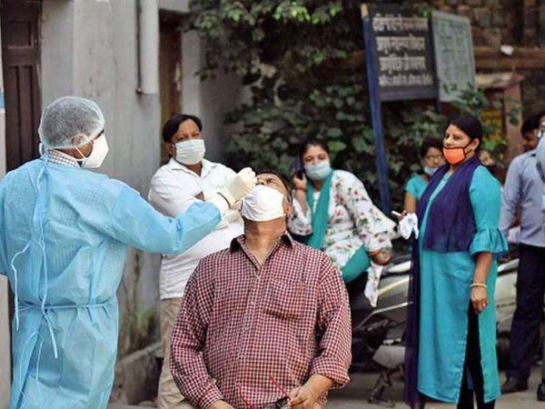 मरीजों को घर पर कोई सुविधा नहीं मिल रही है। - Dainik Bhaskar