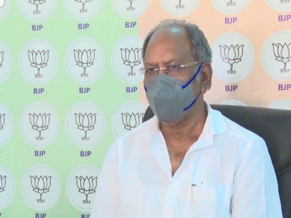 सोमवार को पूर्व मंत्री ने मीडिया से चर्चा करते हुए ये बातें कहीं, और प्रदेश में कोविड इंफ्रास्ट्रक्चर बढ़ाने पर जोर दिया। - Dainik Bhaskar