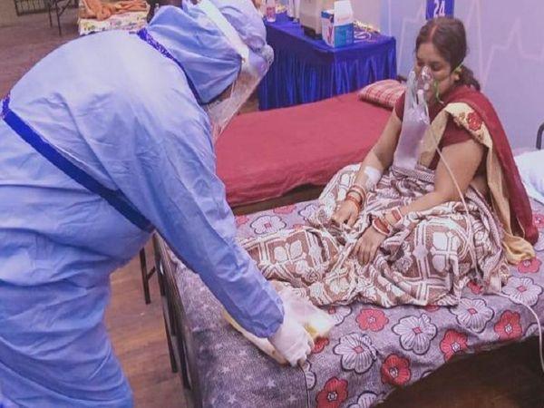 हाल ही में इस कोविड सेंटर में महापौर एजाज ढेबर खुद जाकर मरीजों से मिले थे।