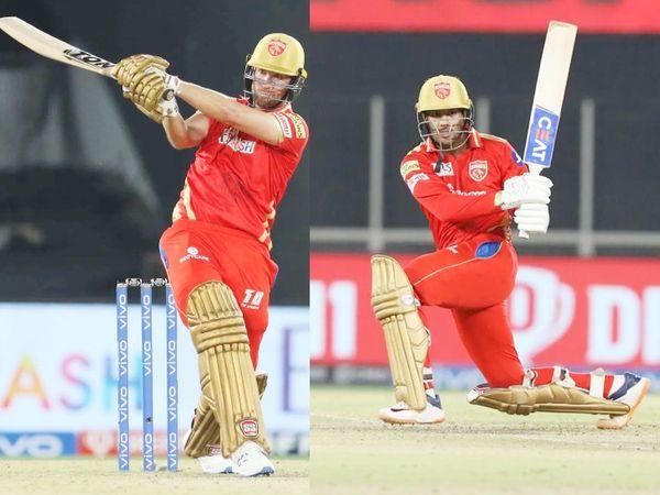 डेब्यू मैच खेल रहे डेविड मलान ने मयंक अग्रवाल के साथ तीसरे विकेट के लिए 47 बॉल पर 52 रन की पार्टनरशिप की। मलान 26 रन बनाकर अक्षर की बॉल पर बोल्ड हो गए।