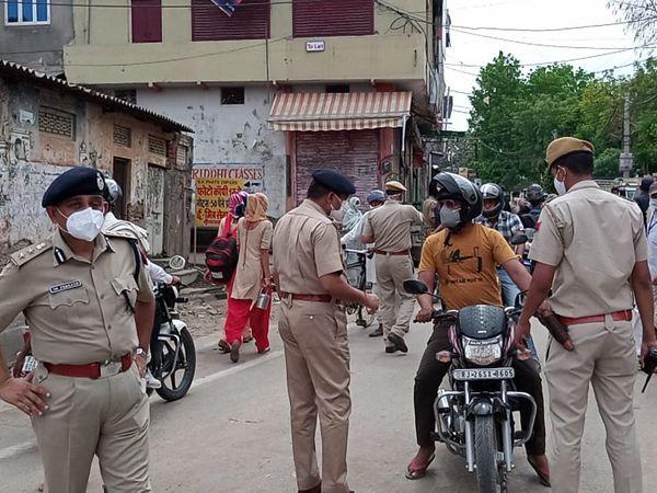 कोरोना पर अंकुश लगाने के लिए प� - Dainik Bhaskar