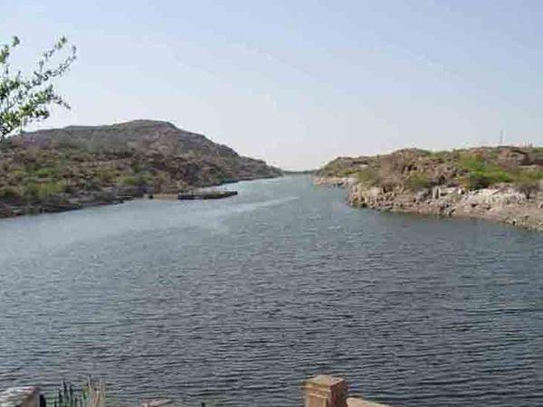 जोधपुर में जलापूर्ति का मुख्य स्रोत कायलाना। - Dainik Bhaskar