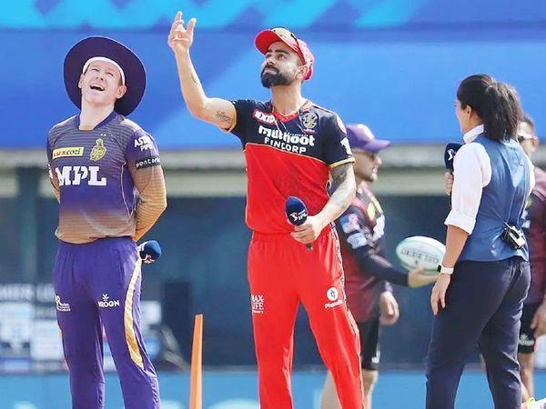विराट कोहली की कप्तानी वाली बेंगलुरु और ओएन मोर्गन की कोलकाता टीम का मैच सोमवार को होना था, जो कोरोना के कारण टाल दिया गया।