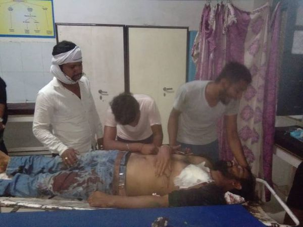 मृतक रिटायर्ड फौजी की उपचार के दौरान मौत - Dainik Bhaskar