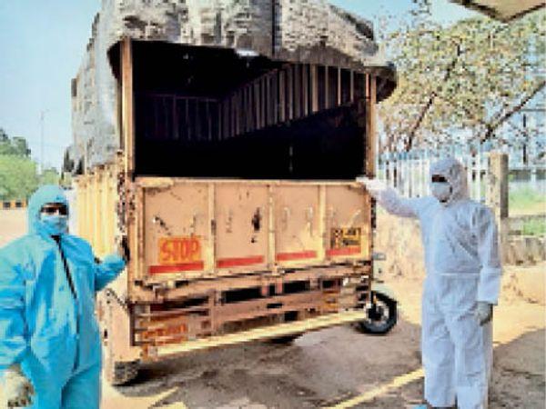 आईबी ग्रुप ने शव पहुंचाने मुफ्त में वाहन की व्यवस्था की।