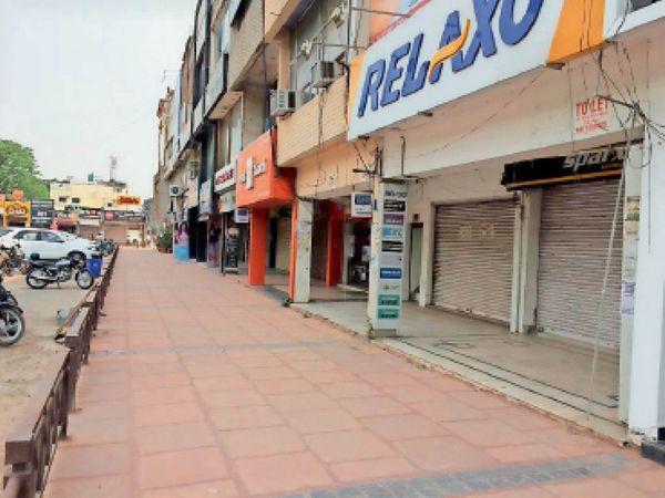 फेज-7 की मार्केट - Dainik Bhaskar