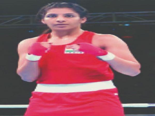 चैंपियन बाक्सर खिलाड़ी सिमरनजीत कौर । - Dainik Bhaskar