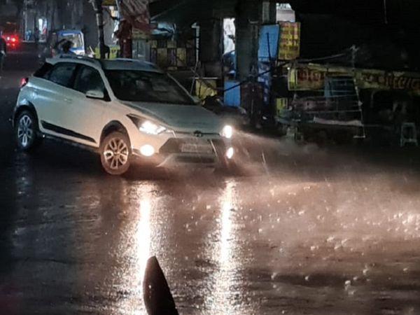 भागलपुर में देर शाम बारिश के बाद सुहाना हुआ मौसम। - Dainik Bhaskar