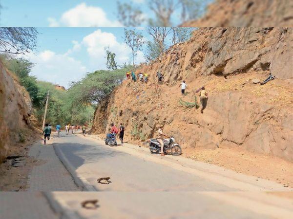 दरगाह संपर्क सड़क और चौपाटी पर रेड अलर्ट - Dainik Bhaskar