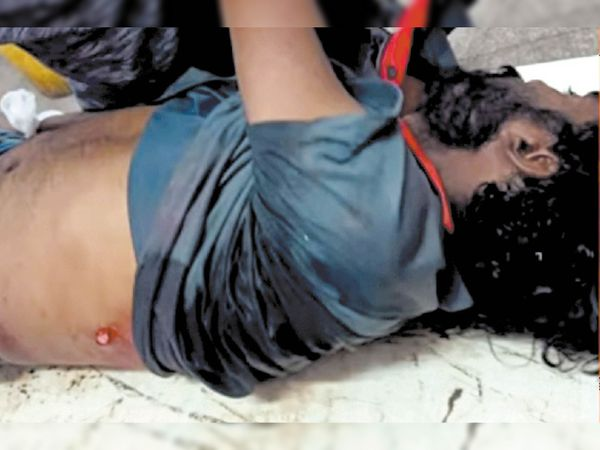 फायरिंग में युवक की मौत। - Dainik Bhaskar