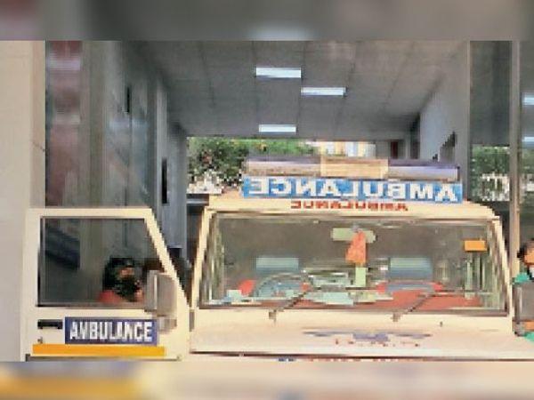 रेवाड़ी पहुंचे सीएम मनोहर लाल ने एम्बुलेंस सेवाओं की भी दरें तय करने के आदेश दिए। - Dainik Bhaskar