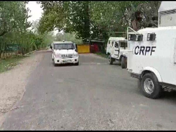 एनकाउंटर को CRPF और 22 राष्ट्रीय राइफल की संयुक्त टीमों ने अंजाम दिया। - Dainik Bhaskar