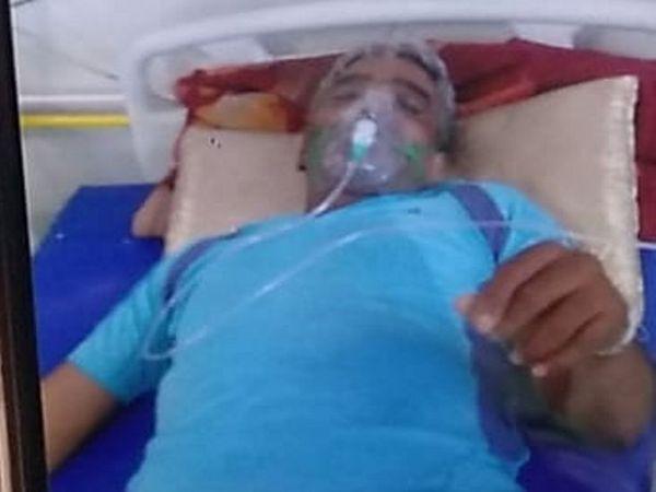 अस्पताल में भर्ती सिंह की हालत में अब सुधार हो रहा है।
