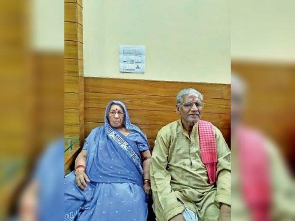 प्रेमचंद जैन की पत्नी चंदन देवी। - Dainik Bhaskar