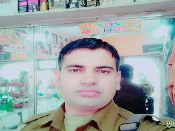 मृतक सिपाही अंकित तरार की फाइल - Dainik Bhaskar