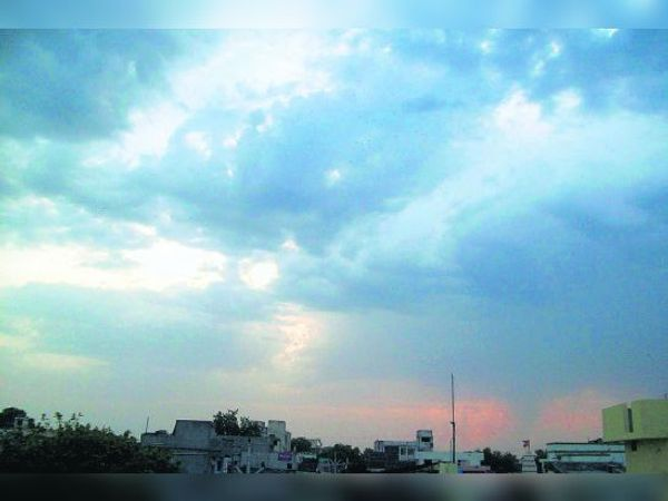 6 और 7 मई काे बादल छाएंगे और आंधी भी चलने की संभावना है। - Dainik Bhaskar