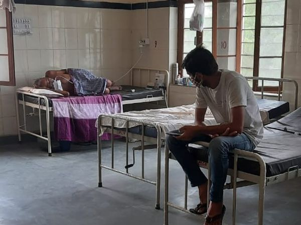 कोविड अस्पताल बीकानेर। - Dainik Bhaskar