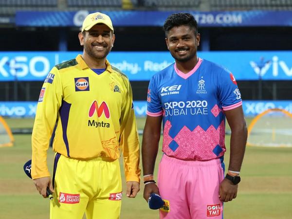 IPLके 14 वें सीजन के पहले लेग में 19 अप्रैल को खेले मैच में चेन्नई ने राजस्थान को 45 रन से हराया था। - Dainik Bhaskar