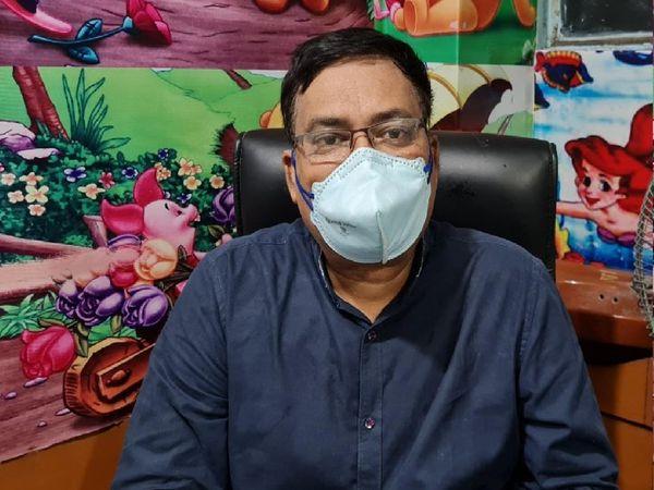 सोसायटी के अध्यक्ष डॉ. अजय कुमार सिंह ने बताया मरीज एक कॉल पर चिकित्सीय परामर्श तब तक ले सकते हैं। - Dainik Bhaskar
