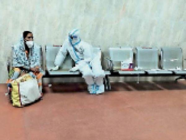 कोविड हॉस्पिटल से डिस्चार्ज होने वाले मरीजों को सावधानी बरतने कहा। - Dainik Bhaskar