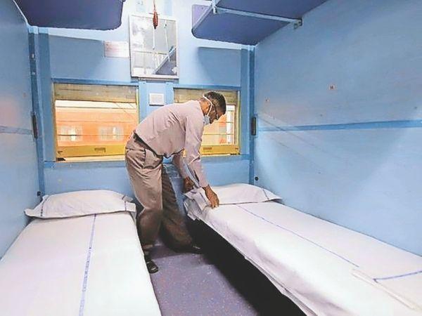 पश्चिम रेलवे कोरोना मरीजों की मदद करने को तैयार है। - Dainik Bhaskar
