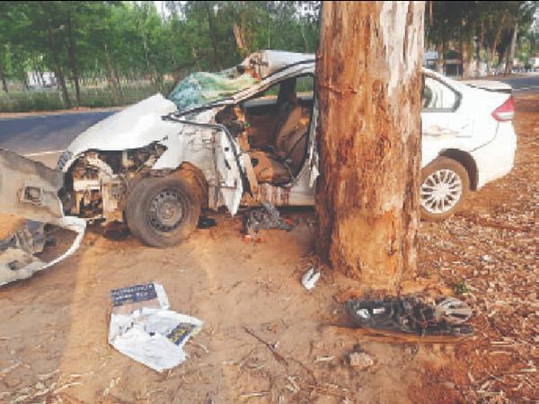 पत्नी नरिंदर कौर और 16 साल की बेटी मनजोत कौर गंभीर जख्मी हो गए। - Dainik Bhaskar