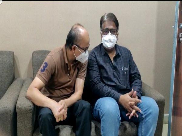 राजधानी अस्पताल में हुए अग्निकांड के 16 दिन बाद पुलिस ने अस्पताल के संचालक डॉक्टर सचिन मल और डॉक्टर अरविंदाे को गिरफ्तार किया है। - Dainik Bhaskar