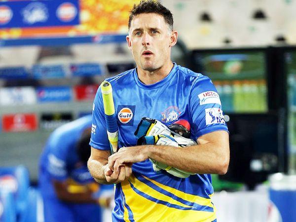 चेन्नई सुपर किंग्स के बैटिंग कोच माइक हसी।