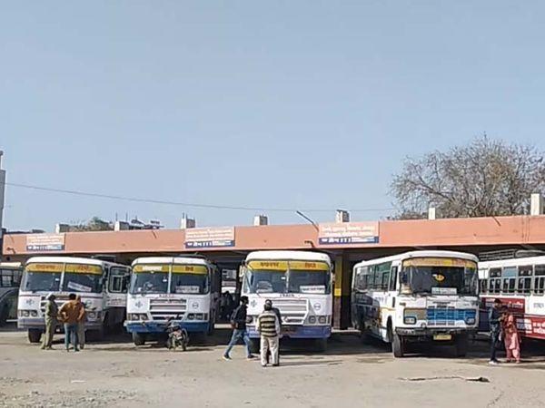 श्रीगंगानगर का केंद्रीय बस  स् - Dainik Bhaskar