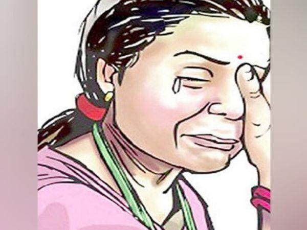 पुलिस जांच में भी पति ने पैसे मांगे तो केस दर्ज कर लिया गया। - प्रतीकात्मक फोटो - Dainik Bhaskar