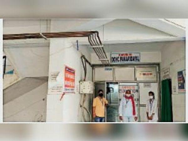 पकड़ीदयाल अनुमंडलीय अस्पताल। - Dainik Bhaskar