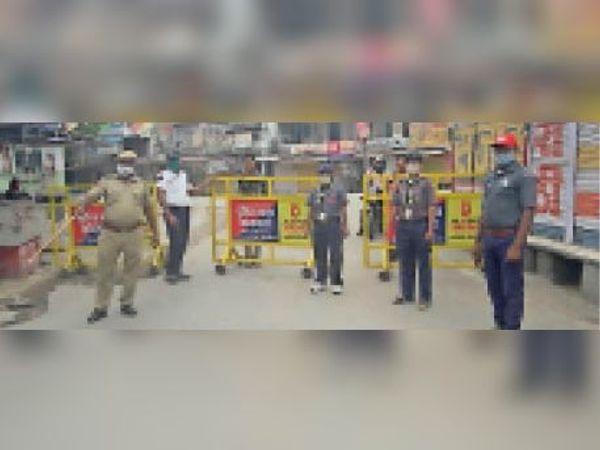 टोंक| कोरोना जागरुकता अभियान के तहत पुलिस के साथ स्काउट-गाइड की रेंजर्स। - Dainik Bhaskar