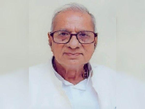 बद्रीधर दीवान। - Dainik Bhaskar